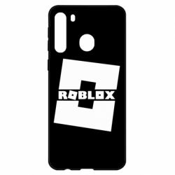 Чехол для Samsung A21 Roblox game