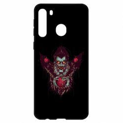Чехол для Samsung A21 Ryuk the god of death