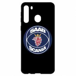 Чехол для Samsung A21 SAAB Scania