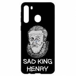 Чехол для Samsung A21 Sad king henry