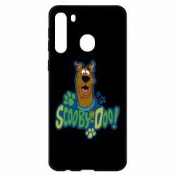 Чехол для Samsung A21 Scooby Doo!
