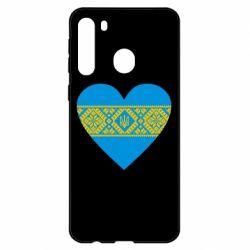 Чехол для Samsung A21 Серце України