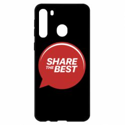 Чехол для Samsung A21 Share the best