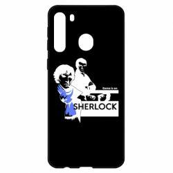 Чехол для Samsung A21 Sherlock (Шерлок Холмс)