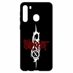 Чехол для Samsung A21 Slipknot Music