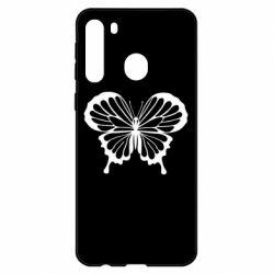 Чехол для Samsung A21 Soft butterfly