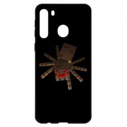 Чехол для Samsung A21 Spider from Minecraft