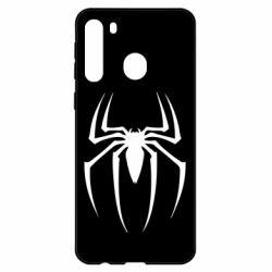 Чехол для Samsung A21 Spider Man Logo