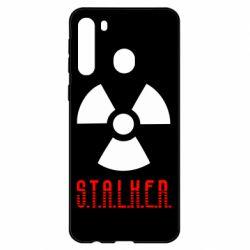 Чехол для Samsung A21 Stalker