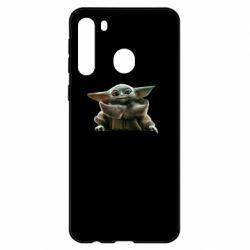 Чехол для Samsung A21 Star Wars Yoda beby