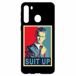 Чехол для Samsung A21 Suit up!