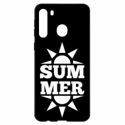 Чехол для Samsung A21 Summer and sun