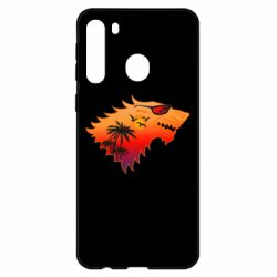 Чехол для Samsung A21 Summer Wolf with glasses Game of Thrones
