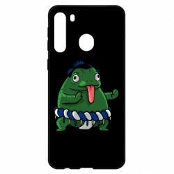 Чехол для Samsung A21 Sumo toad