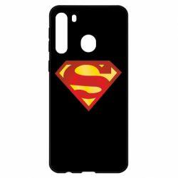 Чехол для Samsung A21 Superman Classic