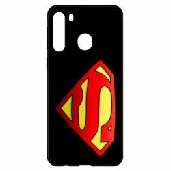 Чехол для Samsung A21 Superman Logo