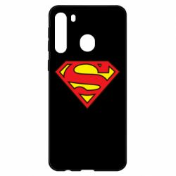 Чехол для Samsung A21 Superman Symbol