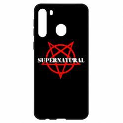 Чехол для Samsung A21 Supernatural