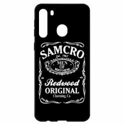 Чехол для Samsung A21 Сыны Анархии Samcro