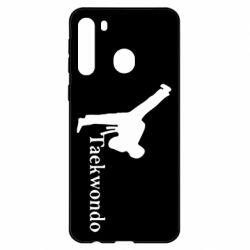 Чехол для Samsung A21 Taekwondo