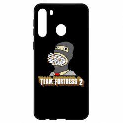 Чехол для Samsung A21 Team Fortress 2 Art