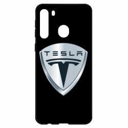 Чехол для Samsung A21 Tesla Corp