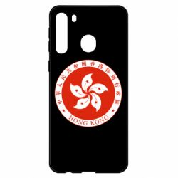 Чехол для Samsung A21 The coat of arms of Hong Kong