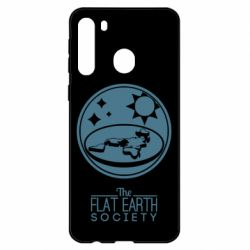 Чехол для Samsung A21 The flat earth society