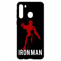 Чехол для Samsung A21 The Invincible Iron Man