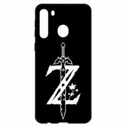 Чехол для Samsung A21 The Legend of Zelda Logo