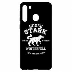 Чехол для Samsung A21 The North Remembers - House Stark