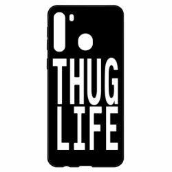 Чехол для Samsung A21 thug life