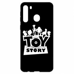 Чехол для Samsung A21 Toy Story and heroes