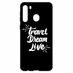 Чехол для Samsung A21 Travel Dream Live
