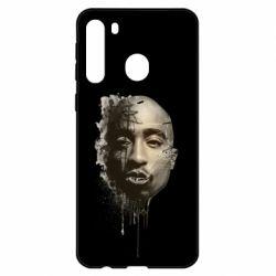 Чехол для Samsung A21 Tupac Shakur