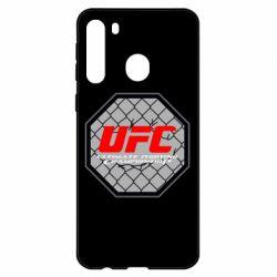 Чехол для Samsung A21 UFC Cage
