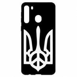 Чехол для Samsung A21 Ukraine Peace