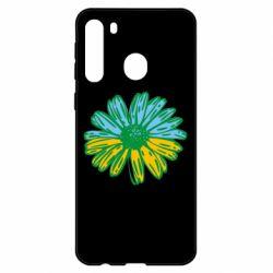 Чехол для Samsung A21 Українська квітка
