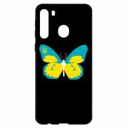 Чехол для Samsung A21 Український метелик