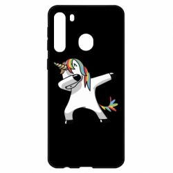 Чехол для Samsung A21 Unicorn SWAG