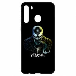 Чехол для Samsung A21 Venom Bust Art