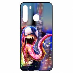 Чехол для Samsung A21 Venom slime
