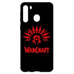 Чехол для Samsung A21 WarCraft Logo