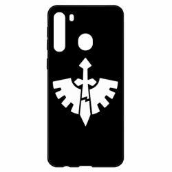 Чехол для Samsung A21 Warhammer 40k Dark Angels