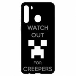 Чехол для Samsung A21 Watch Out For Creepers