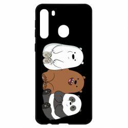 Чехол для Samsung A21 We are ordinary bears