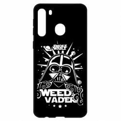 Чехол для Samsung A21 Weed Vader