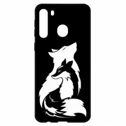 Чехол для Samsung A21 Wolf And Fox