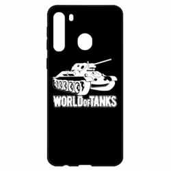 Чехол для Samsung A21 World Of Tanks Game