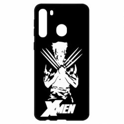 Чехол для Samsung A21 X men: Logan